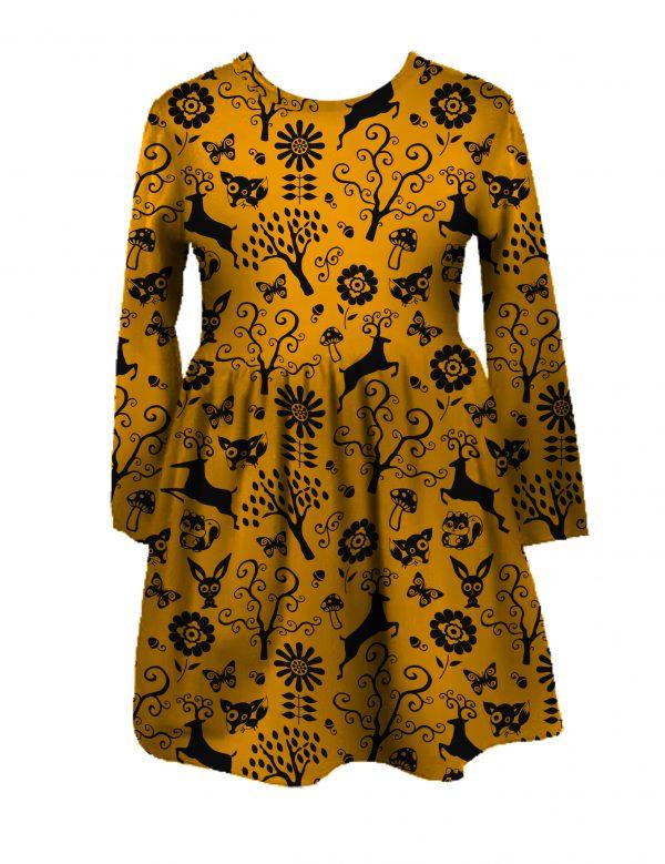 Girls dress handmade UK